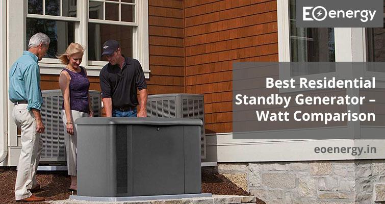 Best Residential Standby Generator – Watt Comparison