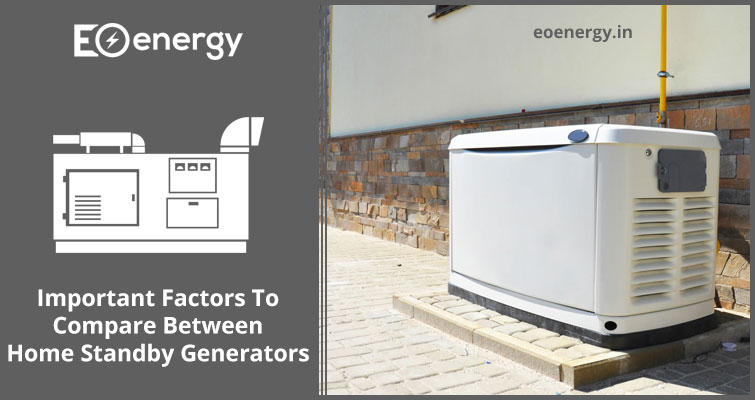 Important Factors To Compare Between Home Standby Generators