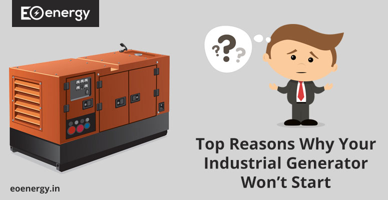 Top Reasons Why Your Industrial Generator Won't Start