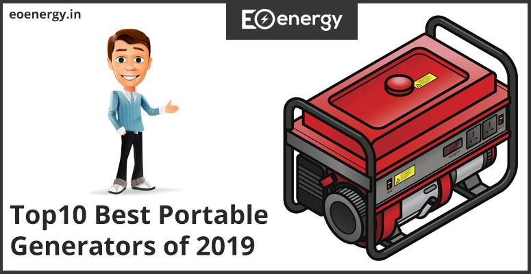 Top10 Best Portable Generators of 2019