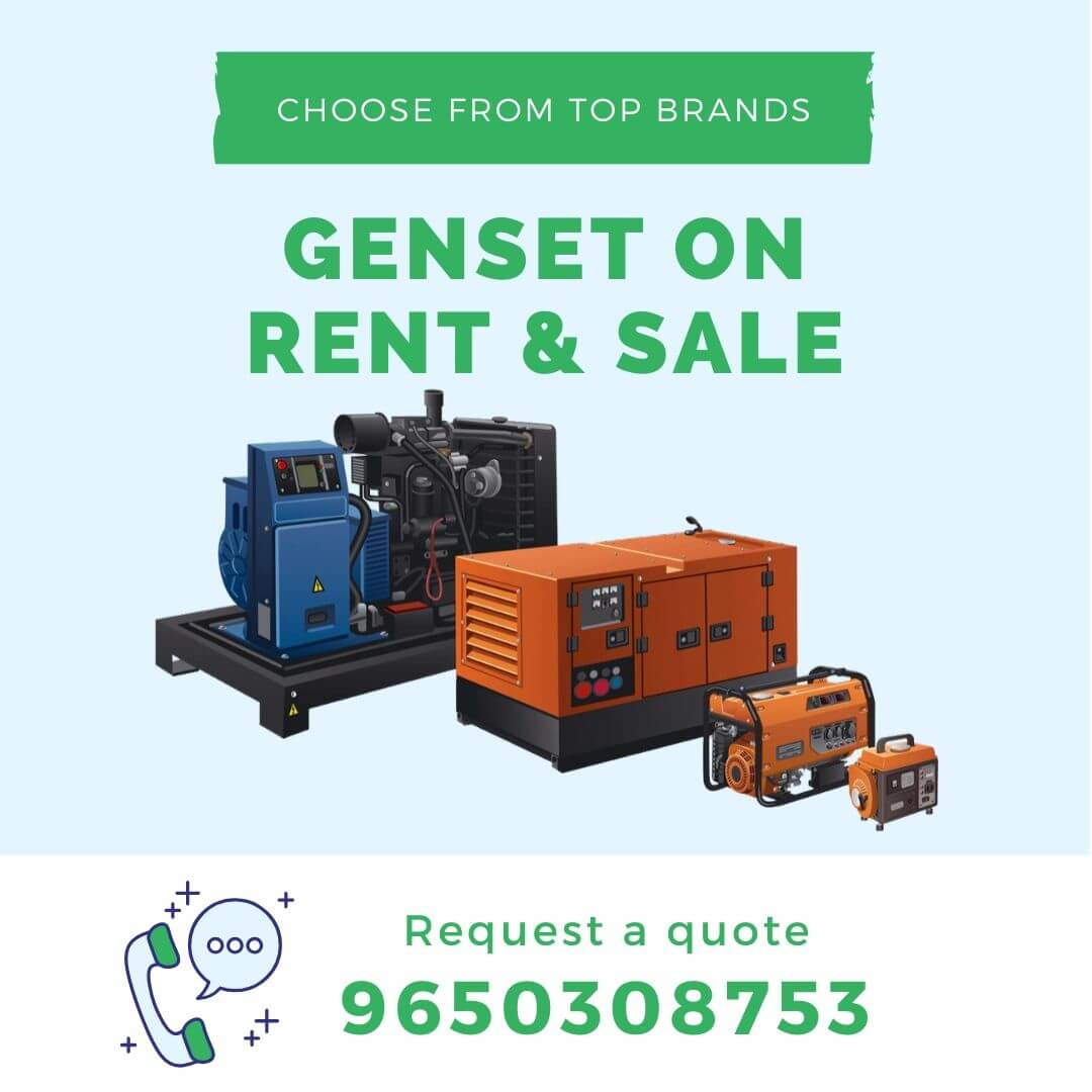 genset rent sale popup