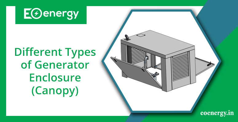 Different Types of Generator Enclosures(Canopy)