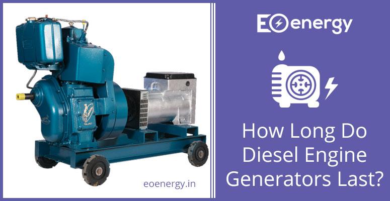 How Long Do Diesel Engine Generators Last?