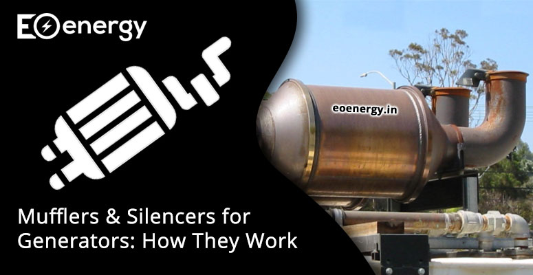 Mufflers & Silencers for Generators: How They Work