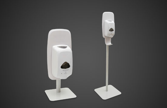 Automatic-hand-sanitizer-stand