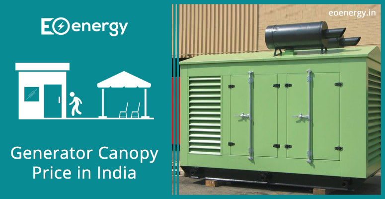 Generator Canopy Price in India