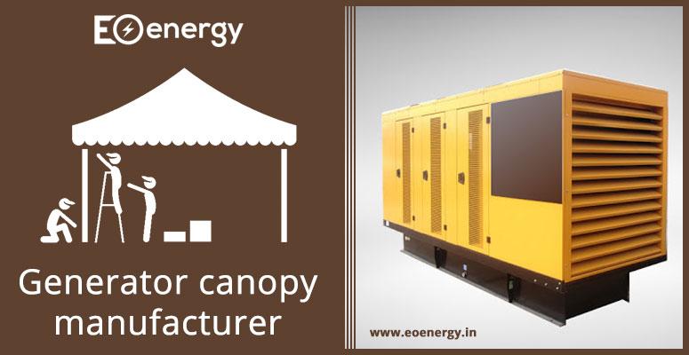 Generator canopy manufacturer