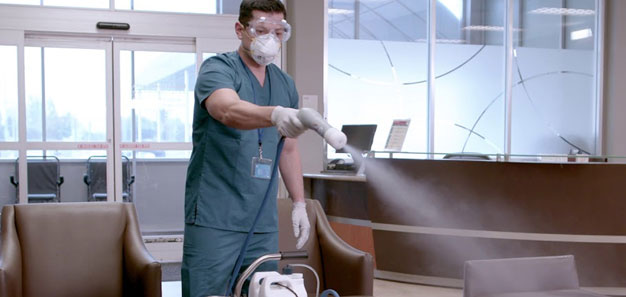 Commercial Deep Disinfectant Cleaning Services