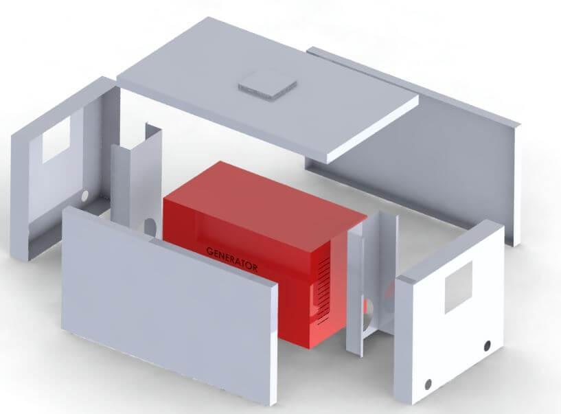 sound-proof-genset-enclosure