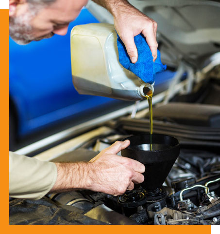 Engine oil for a car​