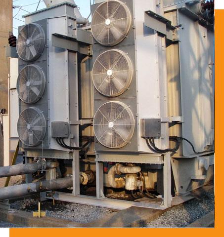 Transformer-oil-cooler