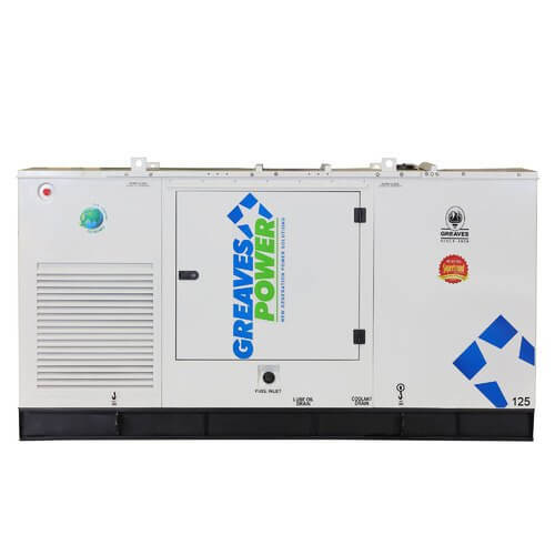 125kva-greaves-used-generator-price