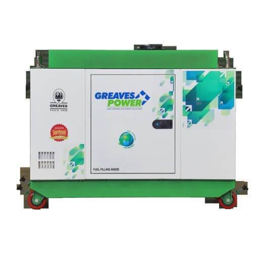 greaves-5kva-generator-used