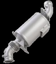emission control system for dg set